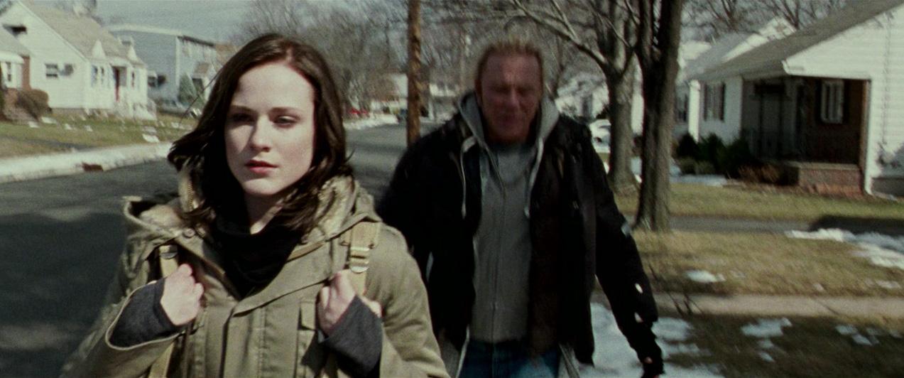 Mickey Rourke and Evan Rachel Wood in The Wrestler (2008)