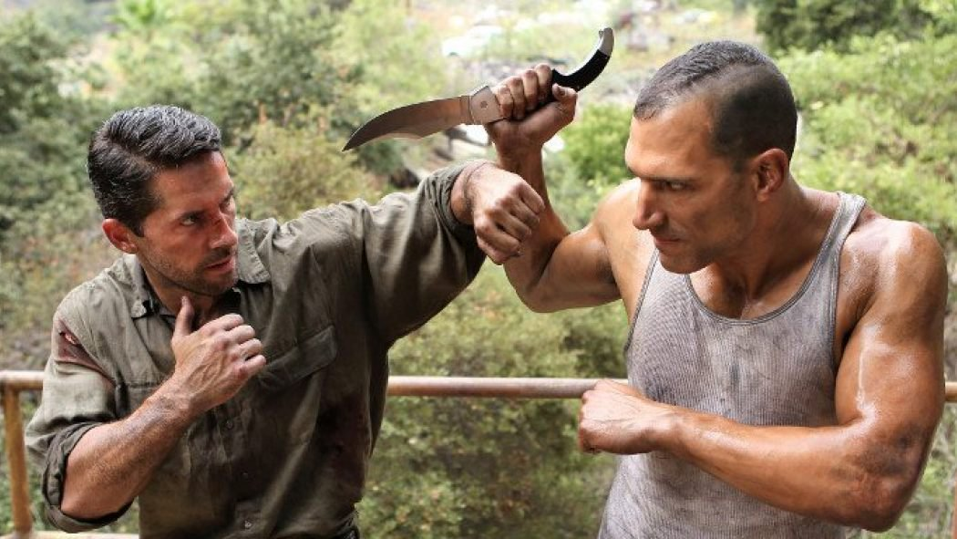 Scott Adkins and Marko Zaror in Hard Target 2 (2016)