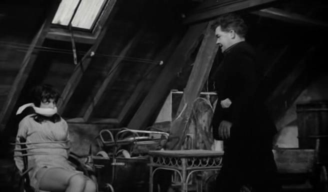 Billy Kearns and Bernadette Lafont in Pleins feux sur Stanislas (1965)