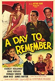 Stanley Holloway, Joan Rice, Donald Sinden, and Odile Versois in A Day to Remember (1953)