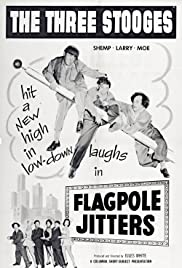 Flagpole Jitters Poster