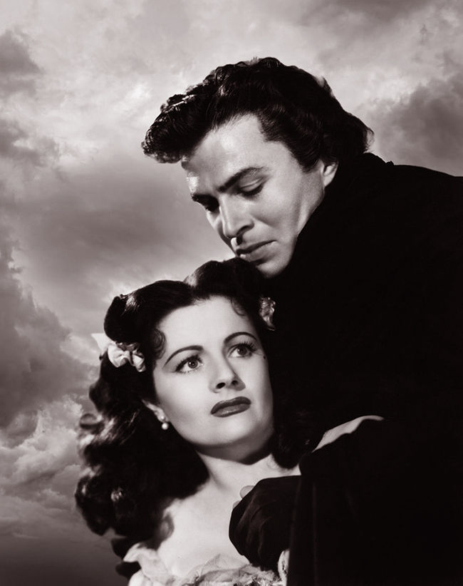 James Mason and Margaret Lockwood in The Wicked Lady (1945)