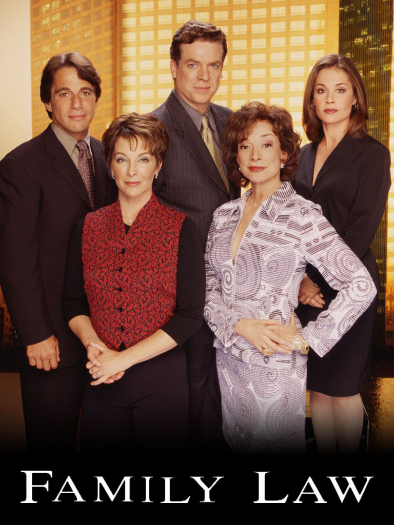 Kathleen Quinlan, Julie Warner, Tony Danza, Christopher McDonald, and Dixie Carter in Family Law (1999)