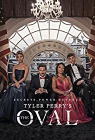 Ed Quinn, Paige Hurd, Kron Moore, and Daniel Croix in The Oval (2019)