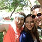 "Lew Temple, Jen Nikolaisen and Bryce Johnson on set of ""Lucky Dog."""