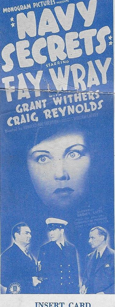 Robert Frazer, Wilhelm von Brincken, Grant Withers, and Fay Wray in Navy Secrets (1939)