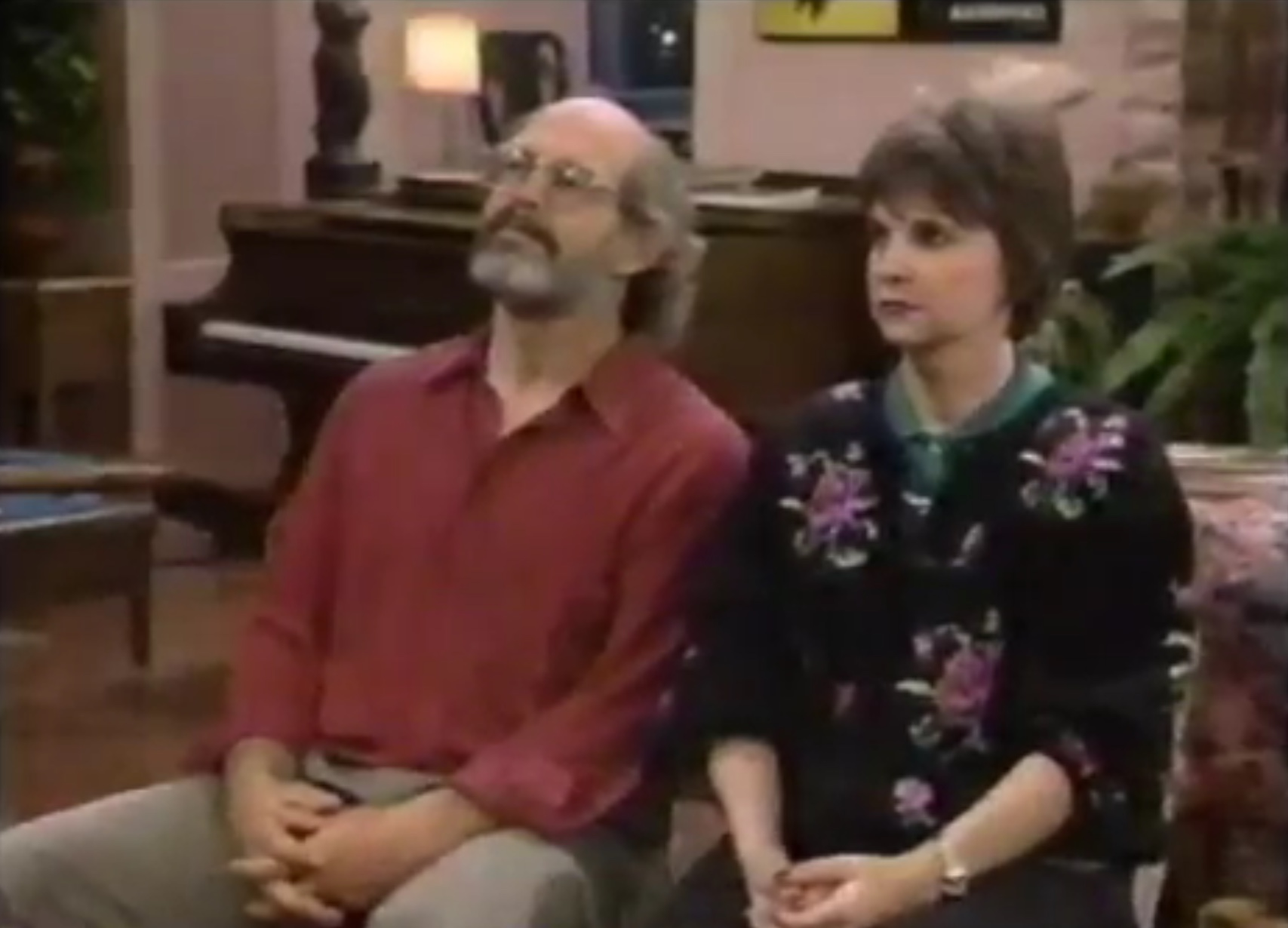 Max Gail and Cindy Williams in Normal Life (1990)