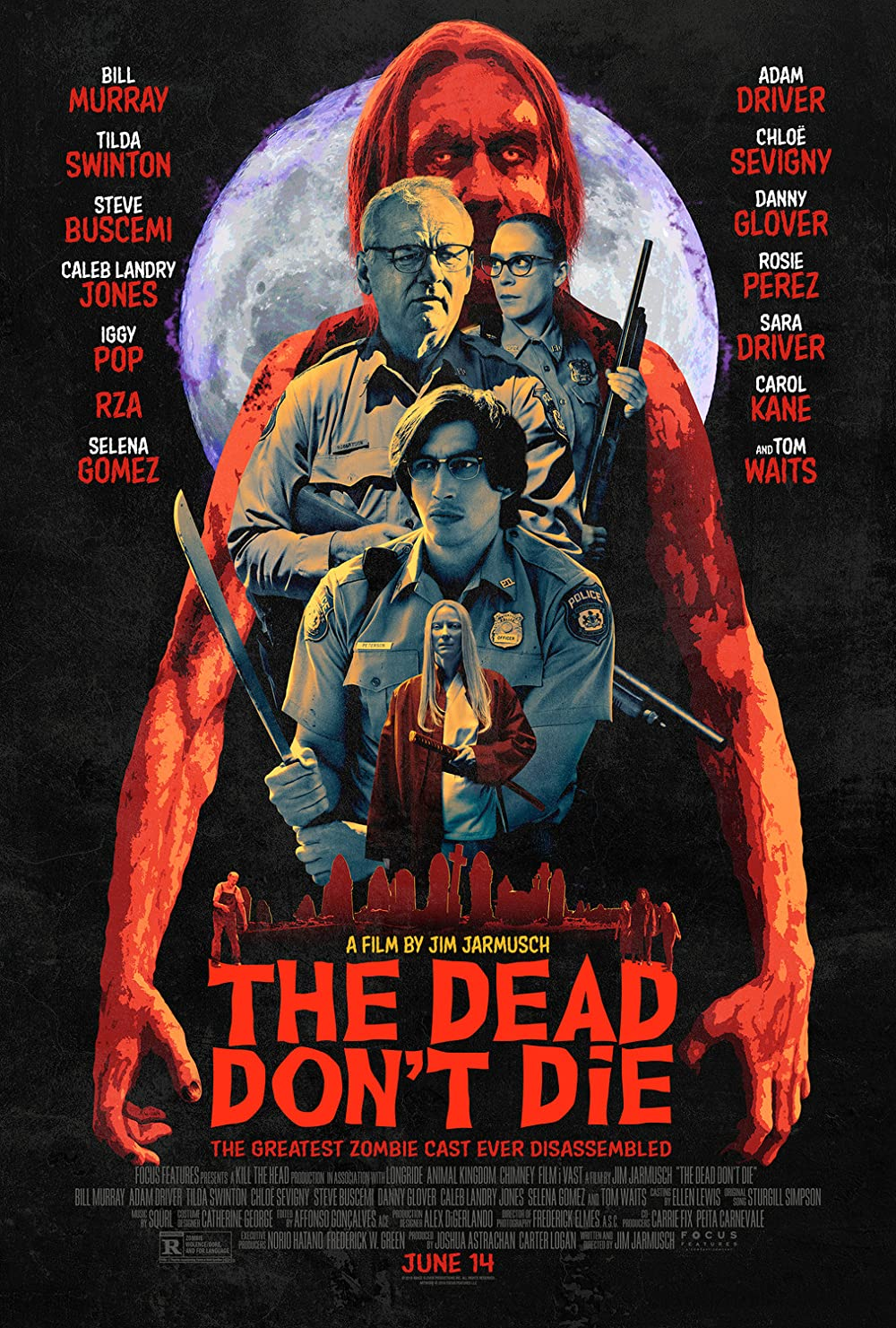 The Dead Dont Die 2019 Dual Audio Hindi 720p BluRay ESub 1.1GB Download