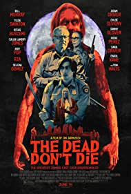 Bill Murray, Chloë Sevigny, Iggy Pop, Tilda Swinton, and Adam Driver in The Dead Don't Die (2019)