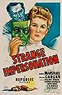 Strange Impersonation (1946) Poster
