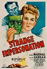 Strange Impersonation Poster