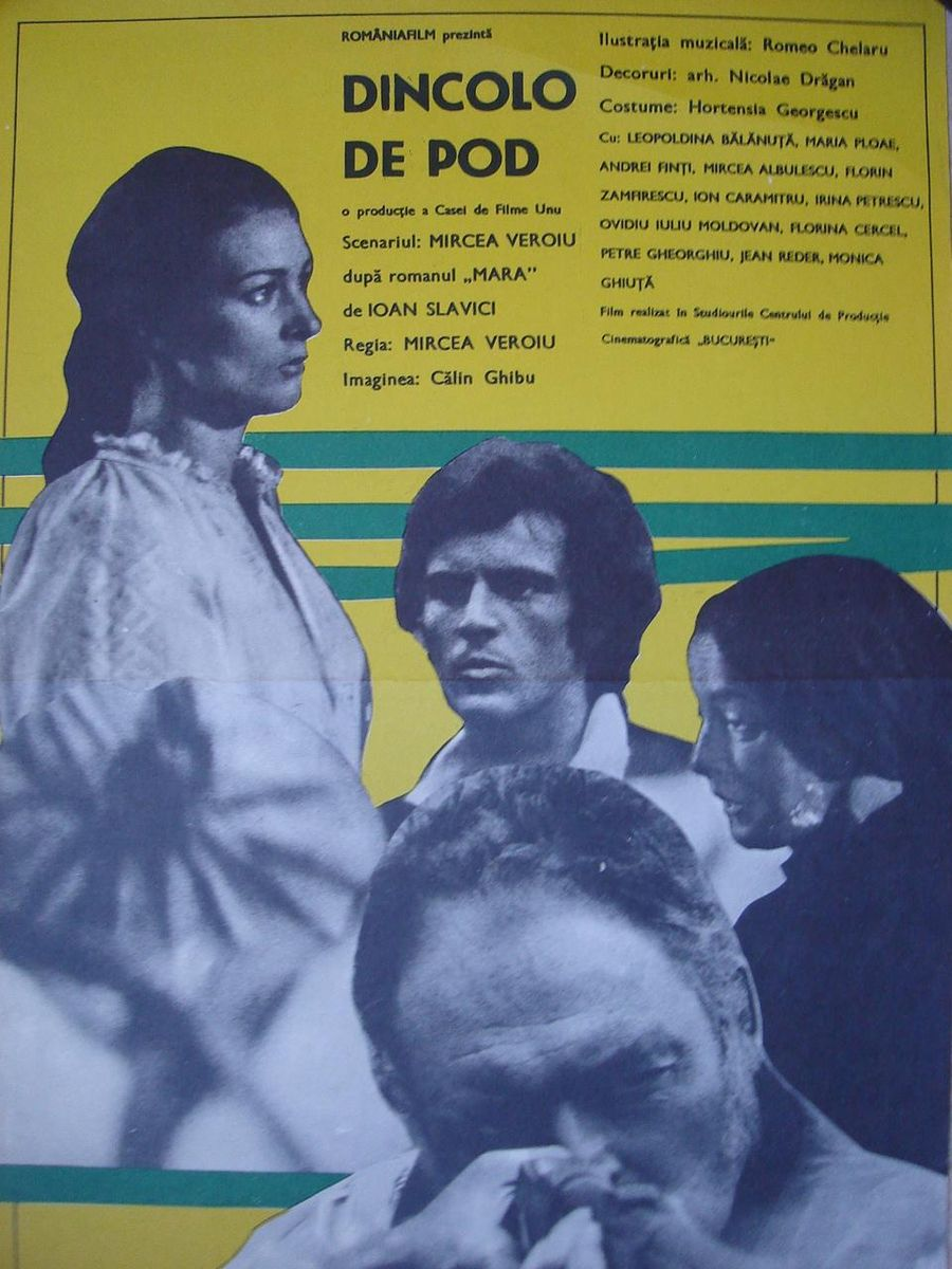 Mircea Albulescu, Leopoldina Balanuta, and Maria Ploae in Dincolo de pod (1976)