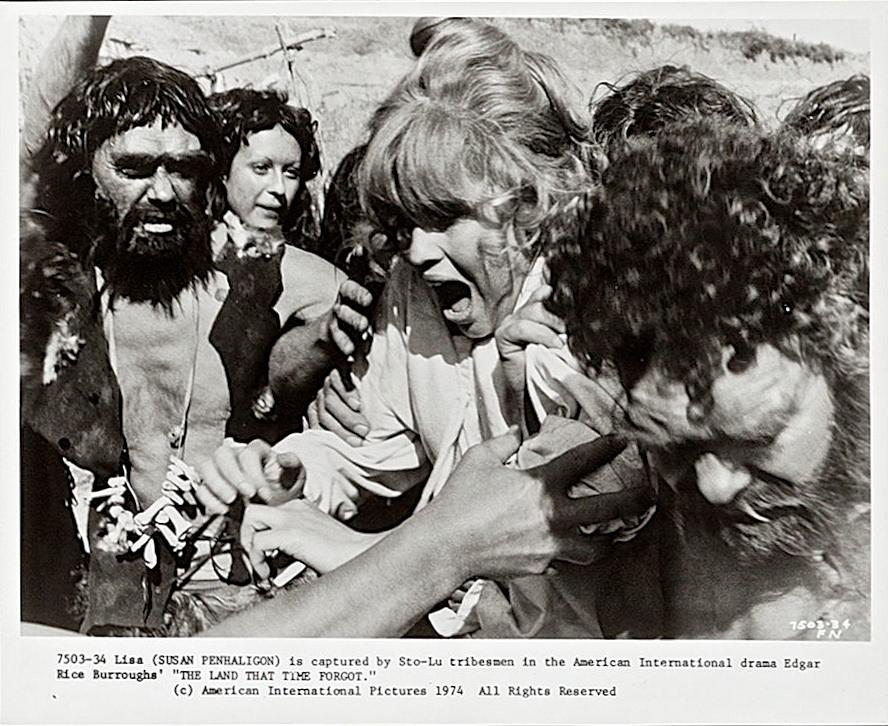 Susan Penhaligon in The Land That Time Forgot (1974