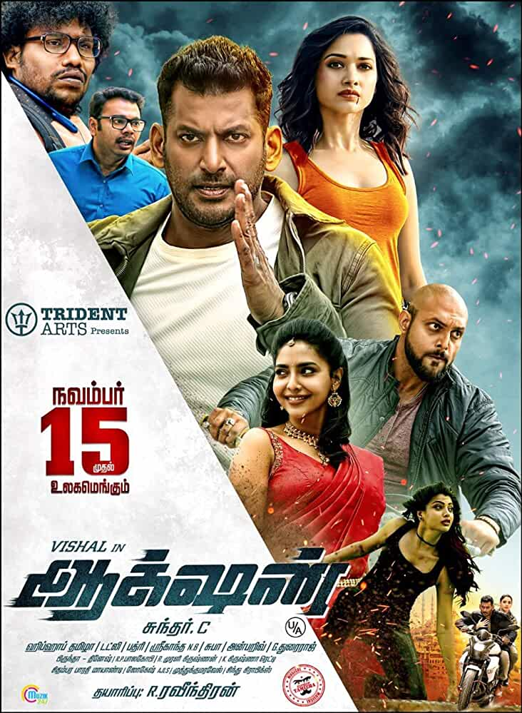 Action (2019) Hindi Dubbed