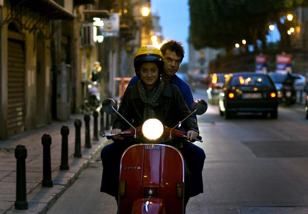 Campino and Giovanna Mezzogiorno in Palermo Shooting (2008)