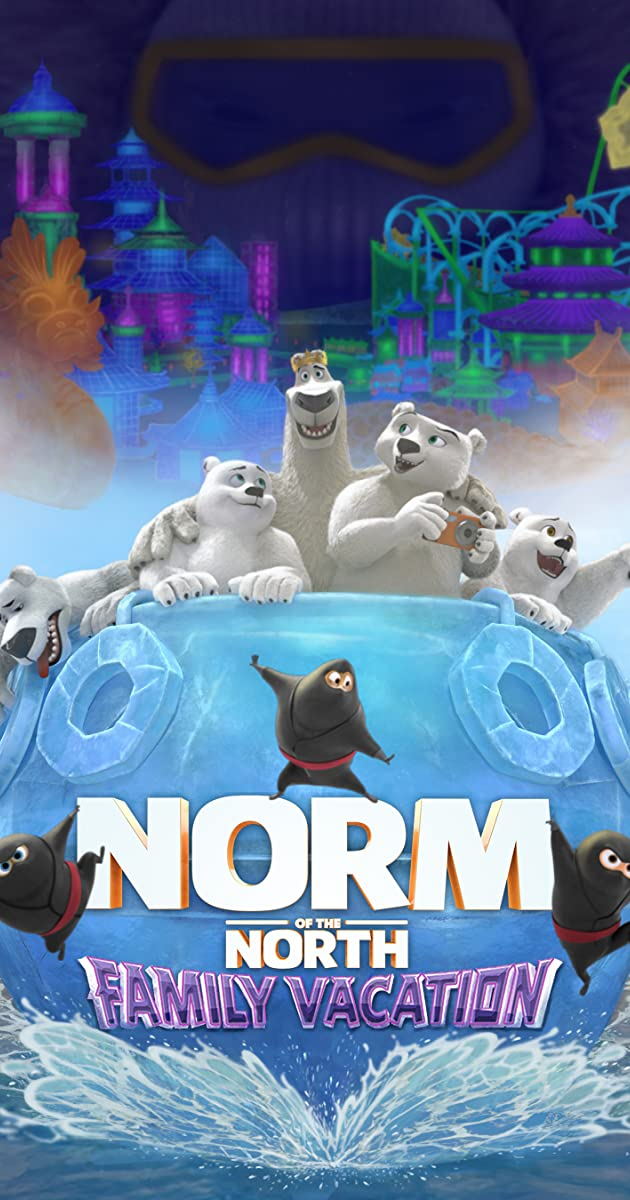 Subtitle of Norm of the North: Family Vacation