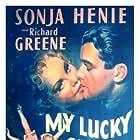 Richard Greene and Sonja Henie in My Lucky Star (1938)