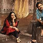 Pawan Kalyan and Nithya Menen in Bheemla Nayak (2022)