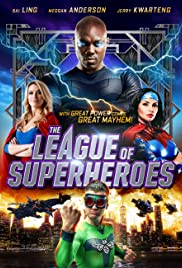 League of Superheroes Poster