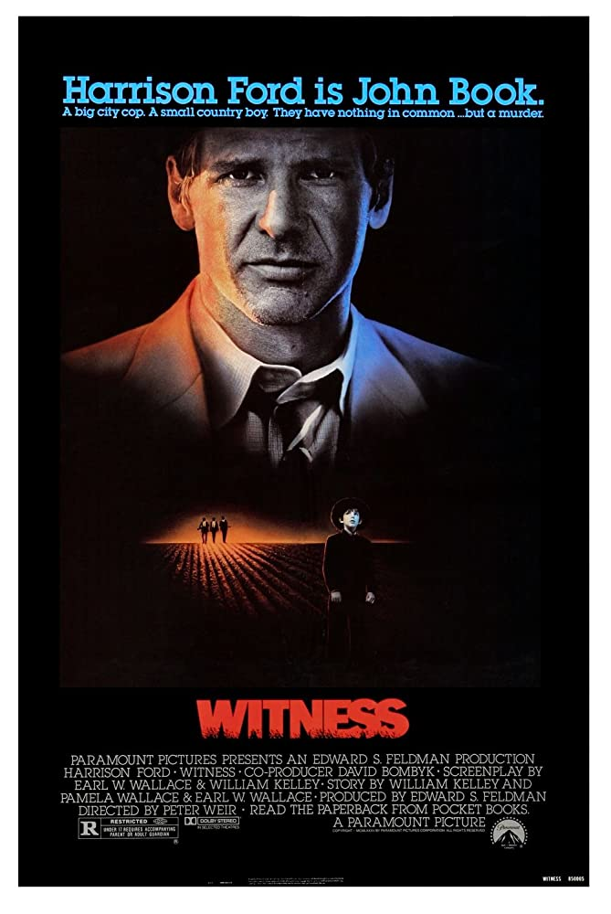 Harrison Ford in Witness (1985)