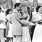 Alberto González Rubio and Sara Montiel in Frente al pecado de ayer (1955)