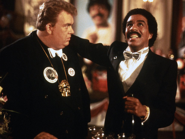 John Candy and Richard Pryor in Brewster's Millions (1985)