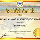 Madeleine Dyer and Duy Huynh in Asia Web Awards 2018 (2018)