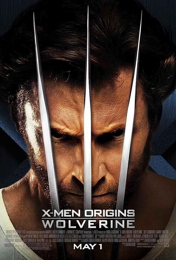 X-Men 4 Origins: Wolverine (2009) Full Movie Download In Hindi-English (Dual Audio) Bluray 480p [300MB] | 720p [700MB] | 1080p [2.2GB]