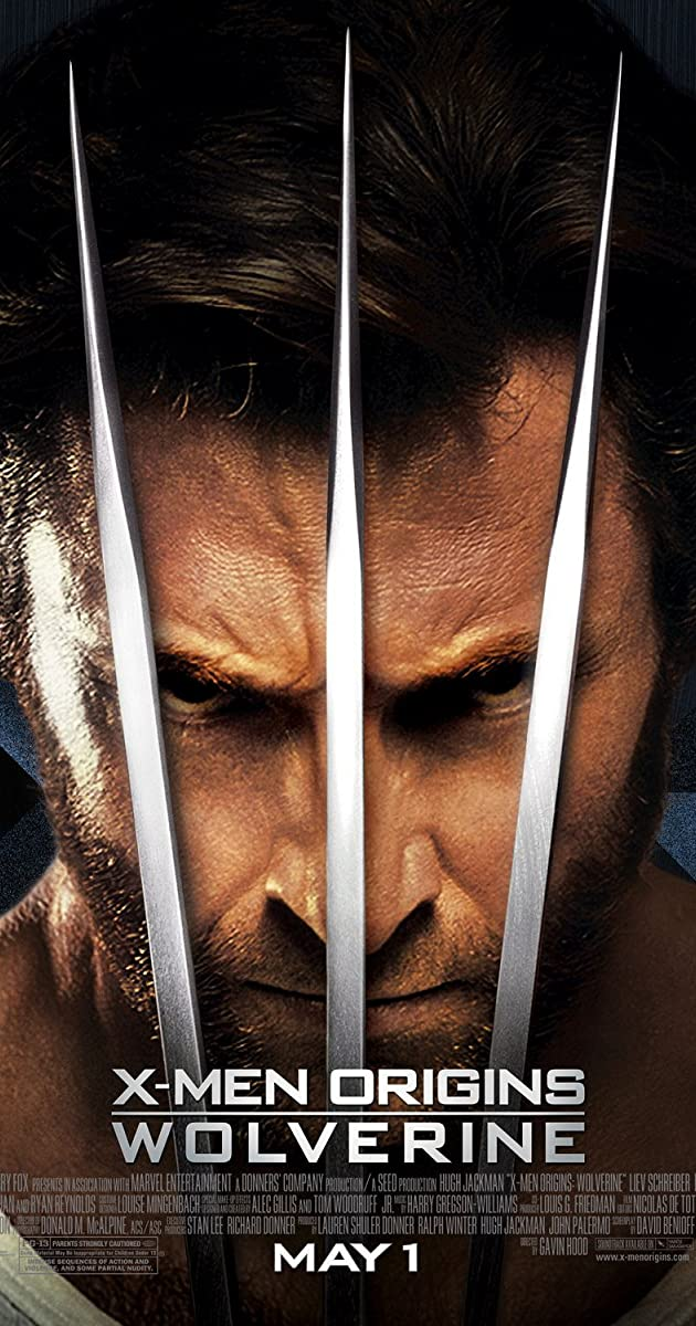 Subtitle of X-Men Origins: Wolverine