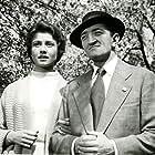 Jirina Bohdalová and Vlastimil Brodský in Florenc 13:30 (1957)
