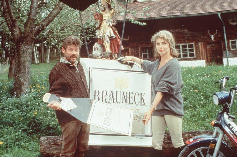 Werner Asam and Michaela May in Der Bergdoktor (1992)