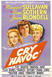 Cry 'Havoc' (1943) Poster - Movie Forum, Cast, Reviews