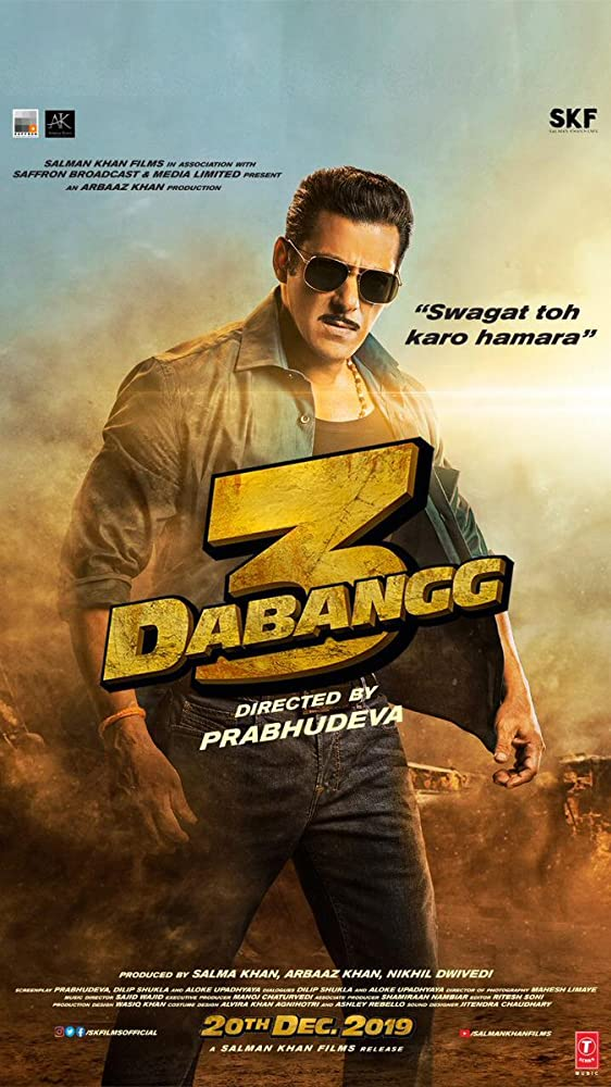 Dabangg 3 2019 Hindi Movie Download HD DVDScr Salman Khan