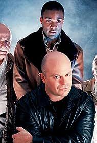 Ray Fearon, Ross Kemp, Warren Mitchell, and Ben Inigo Jones in A Christmas Carol (2000)