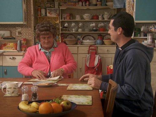Brendan O'Carroll and Conor Moloney in Mrs. Brown's Boys (2011)
