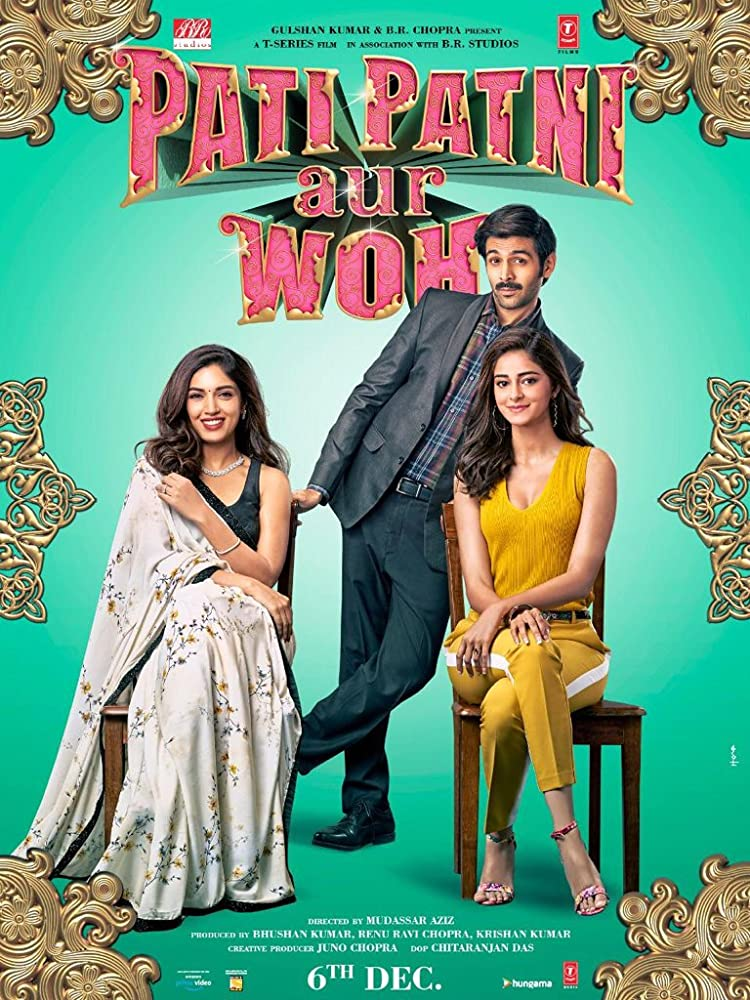 Pati Patni Aur Woh 2019 Comedy Hindi Movie pDVDRip