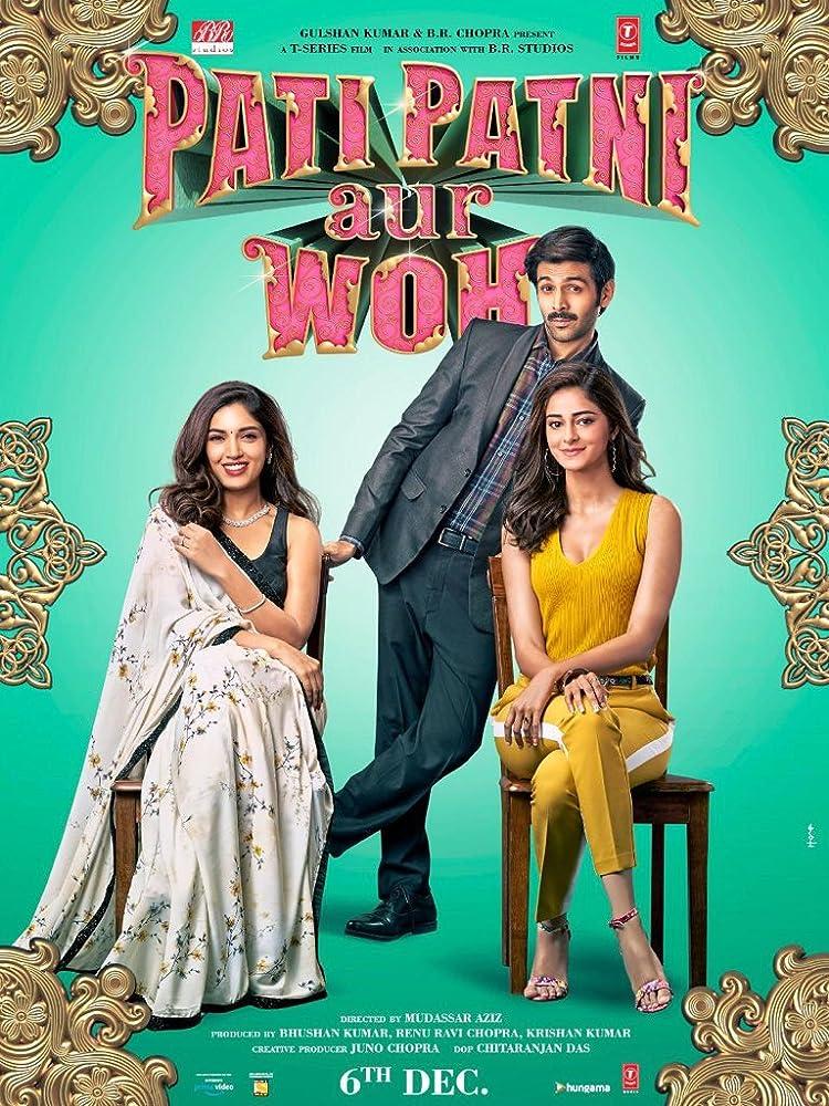 Pati Patni Aur Woh 2019 Comedy Hindi Movie pDVDRip