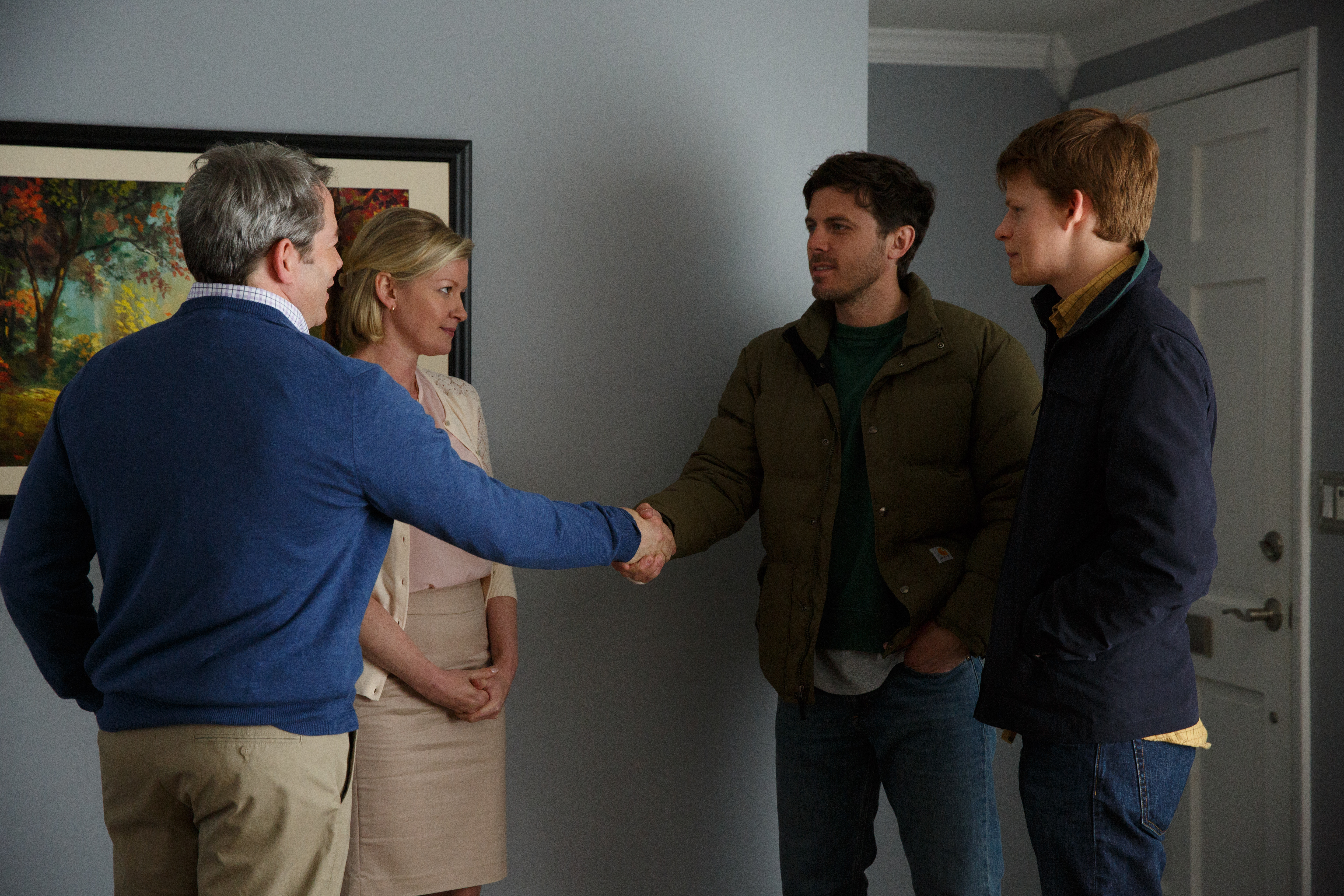 Matthew Broderick, Casey Affleck, Gretchen Mol, and Lucas Hedges in Manchester by the Sea (2016)