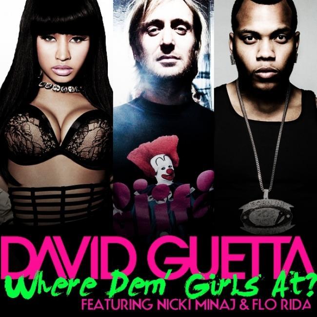 دانلود زیرنویس فارسی فیلم David Guetta Feat. Flo Rida and Nicki Minaj: Where Them Girls At