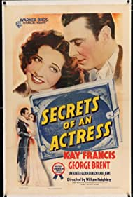 George Brent and Kay Francis in Secrets of an Actress (1938)