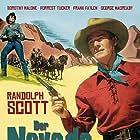 Randolph Scott and Dorothy Malone in The Nevadan (1950)