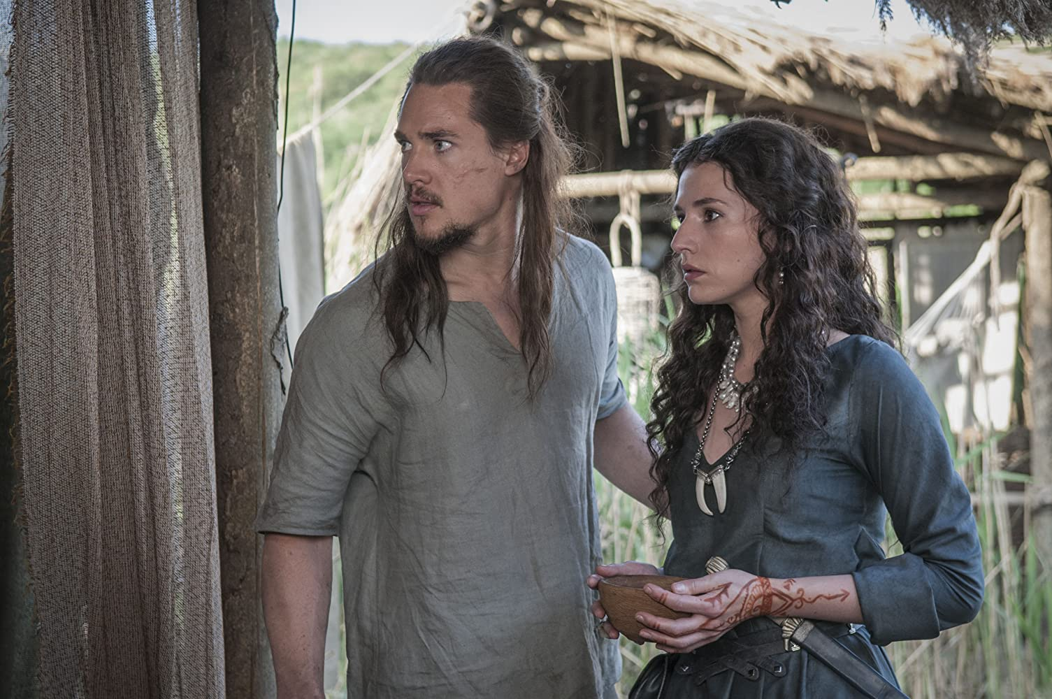 Alexander Dreymon And Wife