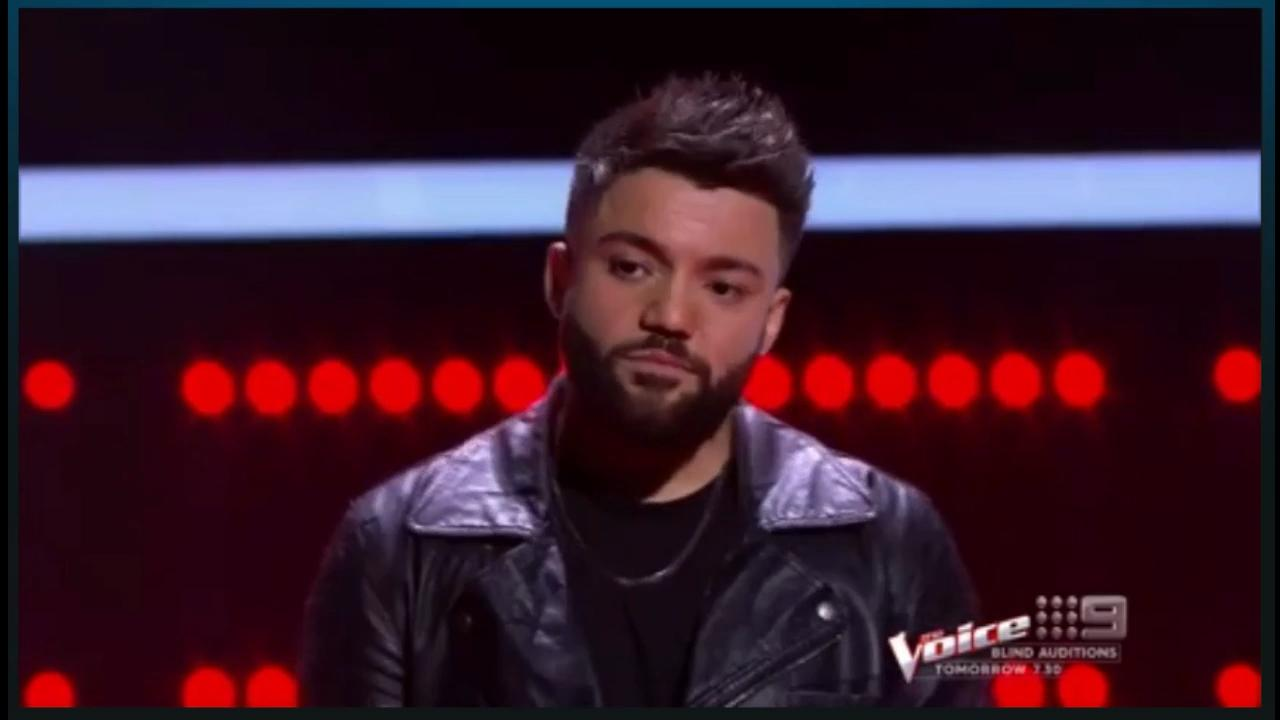 "Robin Johnson continues in Team George after his stellar Knockout Round performance on last night's ""The Voice"" (2017)"