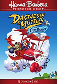 Dastardly and Muttley in Their Flying Machines Poster