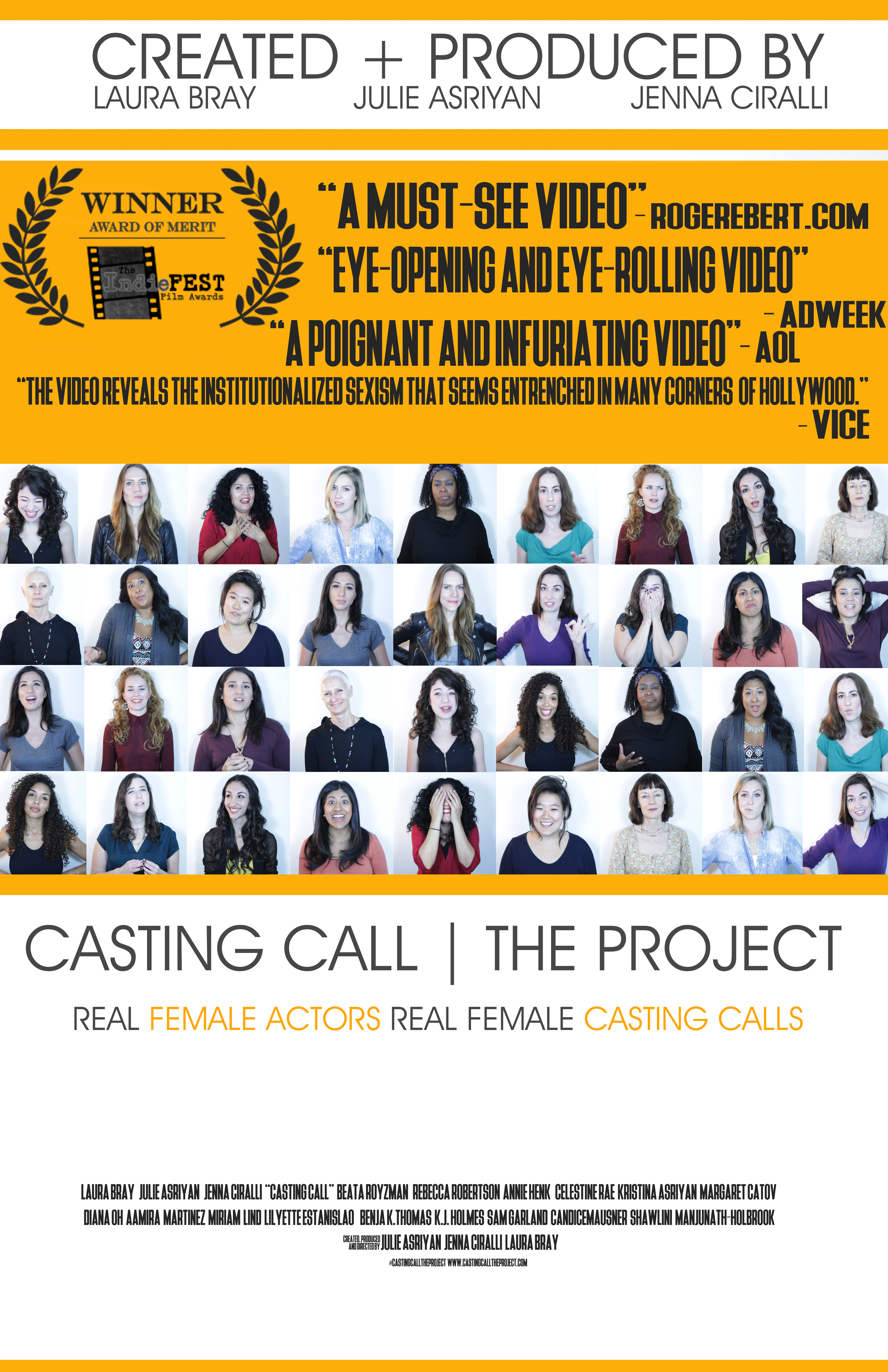 Casting Call The Project Video 2016