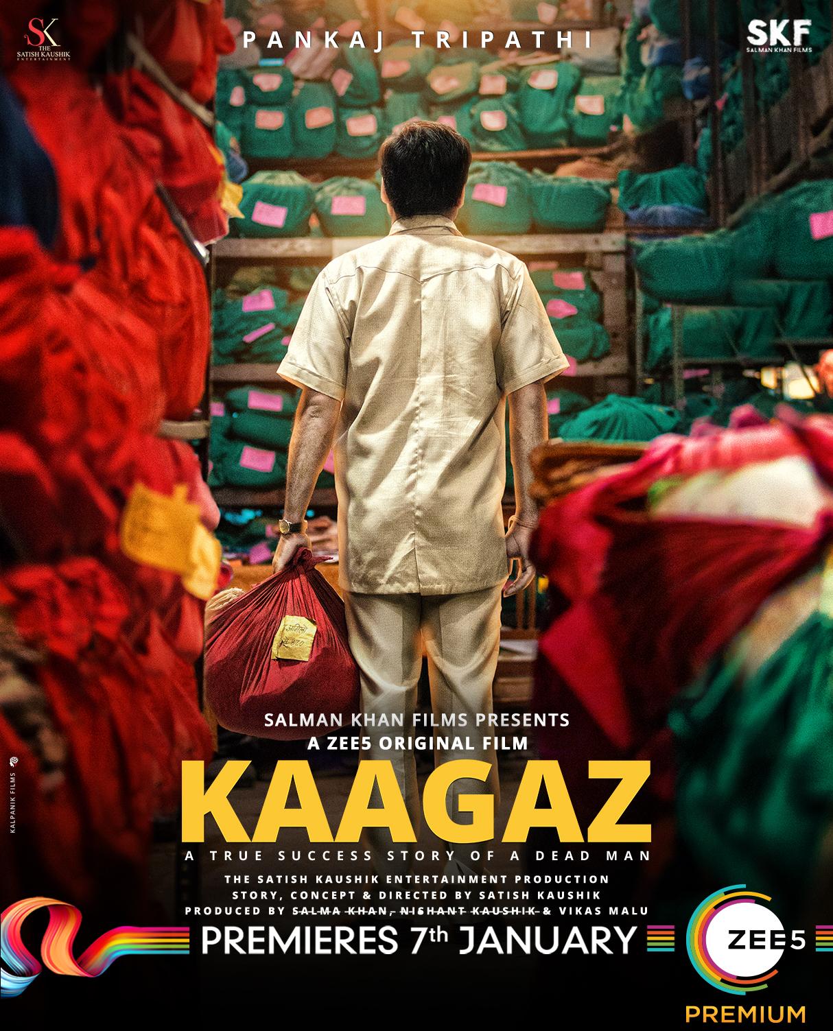 Download Kaagaz (2021) Hindi Full Movie 480p | 720p