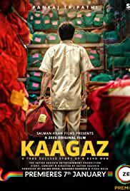 Kaagaz (2021) HDRip Hindi Full Movie Watch Online Free