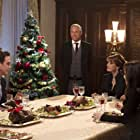 Lacey Chabert, Jane Seymour, Simon Dutton, and Stephen Hagan in A Royal Christmas (2014)