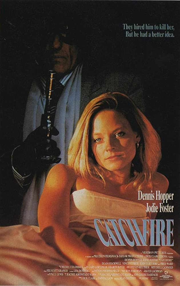 Jodie Foster and Dennis Hopper in Catchfire (1990)
