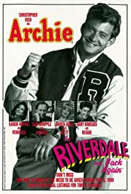 Lauren Holly, Karen Kopins, Gary Kroeger, Christopher Rich, and Sam Whipple in Archie: To Riverdale and Back Again (1990)